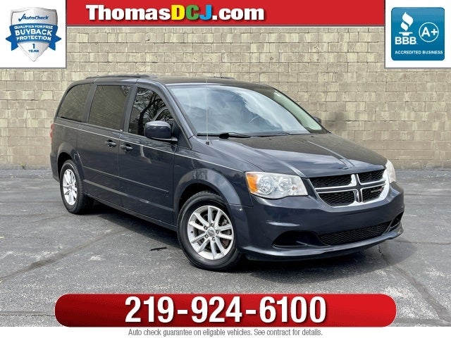 2016 Dodge Grand Caravan Sxt In Highland Thomas Chrysler Jeep Of